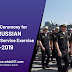 Opening Ceremony for INDO-RUSSIAN Joint Tri Service Exercise INDRA-2019