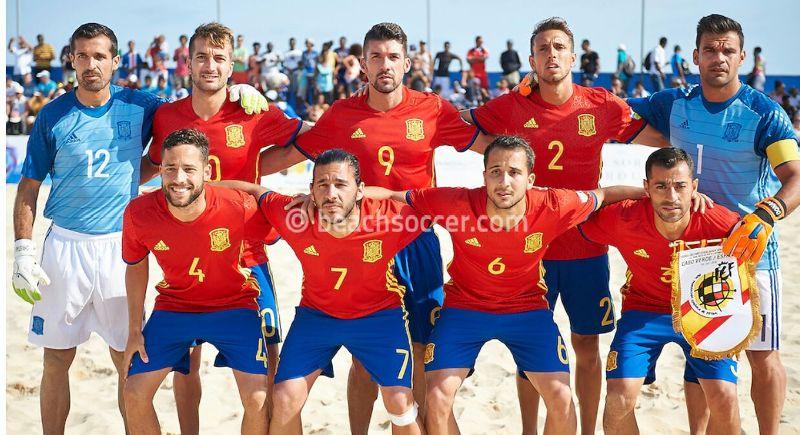 espana playa futbol