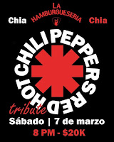 Concierto Tributo a RED HOT CHILI PEPPERS