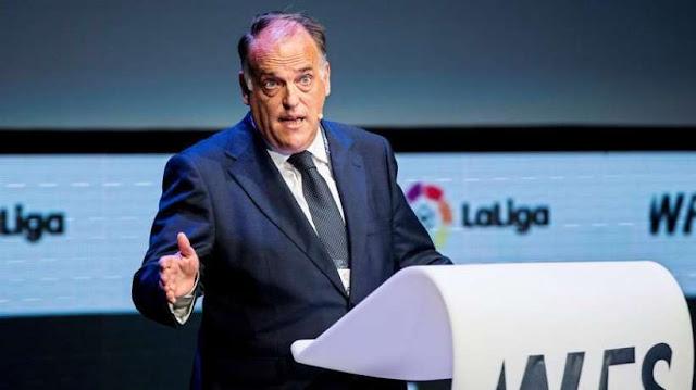 Lа Liga chief names potential Premier League return date amid coronavirus suspension