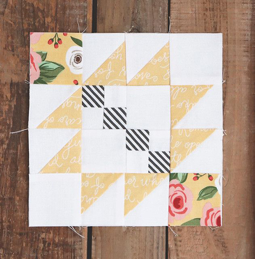 Taos Quilt Block designed by Vanessa Goertzen of Lella Boutique