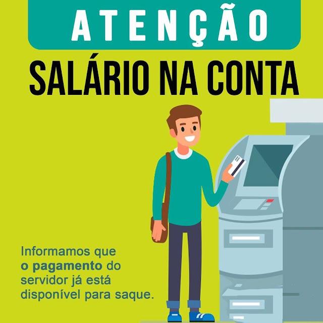 Pimenteiras: Prefeitura paga salários de Setembro com 12 dias de antecedência