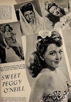 Peggy O'Neill Edgar Bergen