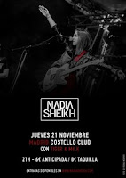 Concierto de Nadia Sheikh y Tiger & Milk en Costello Club