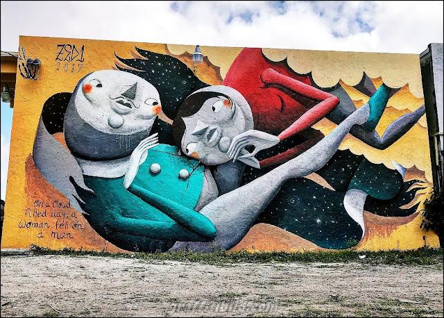 Miami's street art, graffiti works in Miami