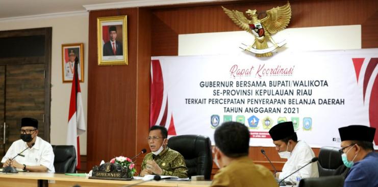 Gubernur Kepri Sampaikan Permasalahan Mengenani Kepulangan PMI