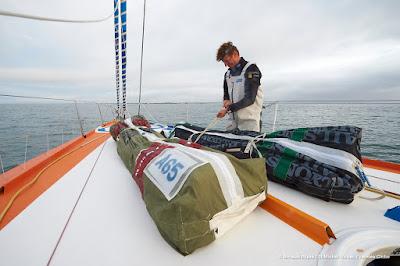 JP Dick pour son 4e Vendée Globe