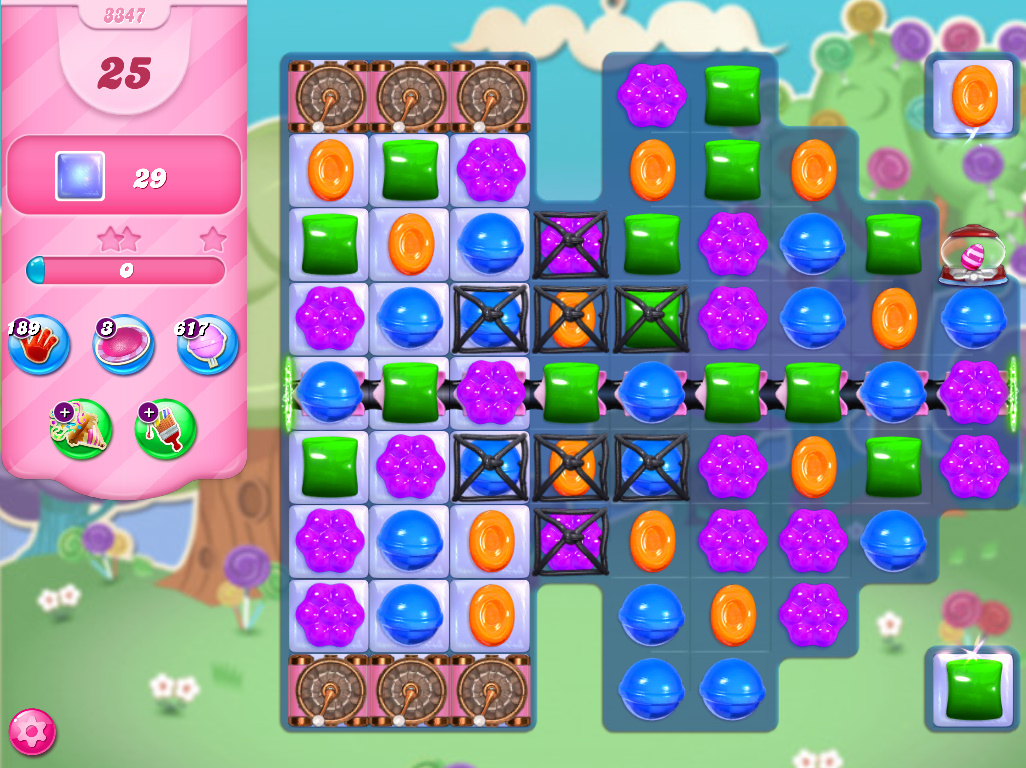 Candy Crush Saga level 3347