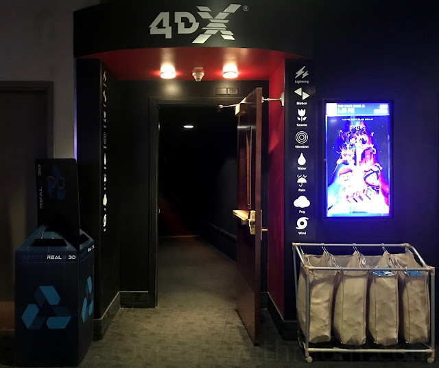 4DX at the Theatre