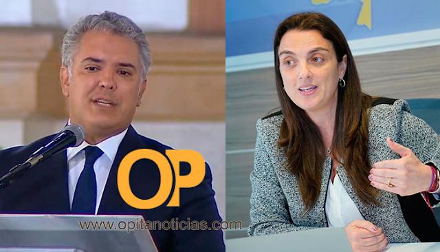El presidente Duque le pidió la renuncia a Karen Abudinen, ministra de las TIC.