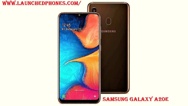compact mobile outcry launched every bit the Milky Way Influenza A virus subtype H5N1 Samsung Milky Way A20e compact mobile outcry launched