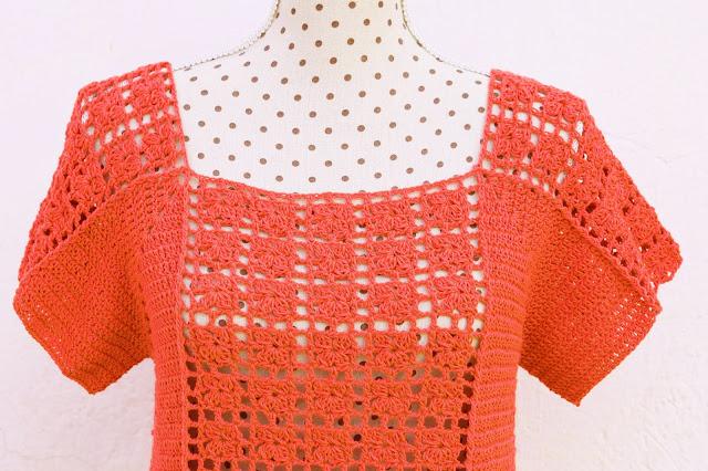 6 - Crochet Imagen Blusa veraniega a crochet y ganchillo por Majovel Crochet