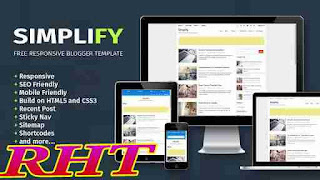 Seo ready responsive blogger template 3