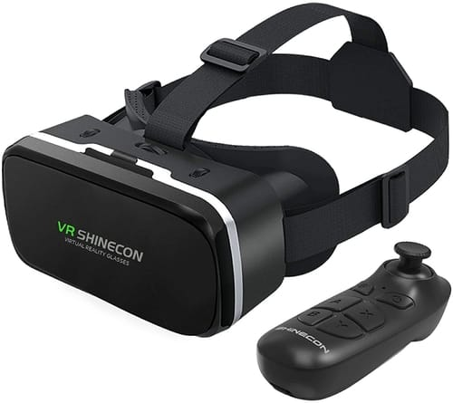 VR SHINECON VR Headset with Remote Controller