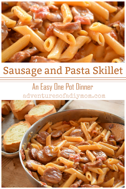 Cheesy Sausage and Pasta Dinner