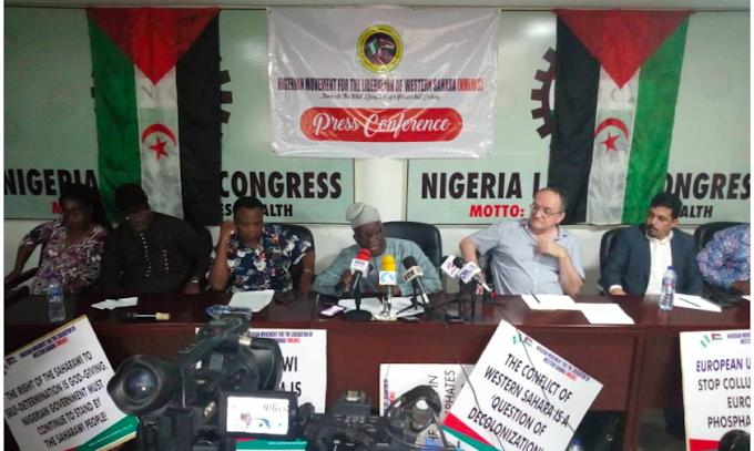 الحركة النيجيرية من أجل تحرير الصحراء الغربية : ''مهتمون بتنمية بلدنا لكن ليس بالثروات المنهوبة والملطخة بدماء الشعب الصحراوي''