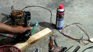 Cara Mengganti Bearing atau Klaher Pompa Air