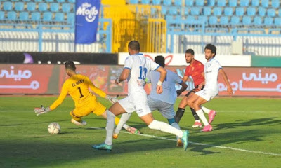 ملخص اهداف مباراة سموحة وسيراميكا كليوباترا (1-1) الدوري المصري