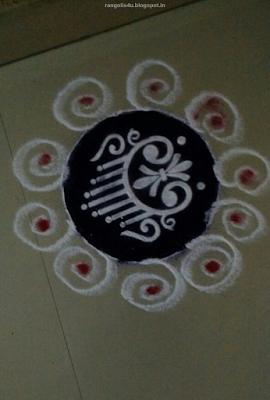 Small Circle Rangolis