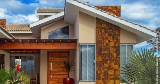Lingkar Warna 30 Desain Inspiratif Model Atap Rumah Minimalis Miring Ke Samping
