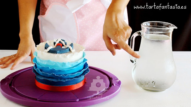 Cómo refrigerar una tarta fondant