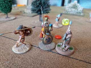 The filthy human scum kill two more Satyrs