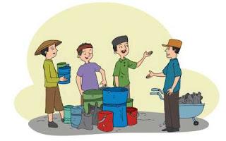 Udin, Edo, dan Beni merupakan sahabat dekat www.simplenews.me
