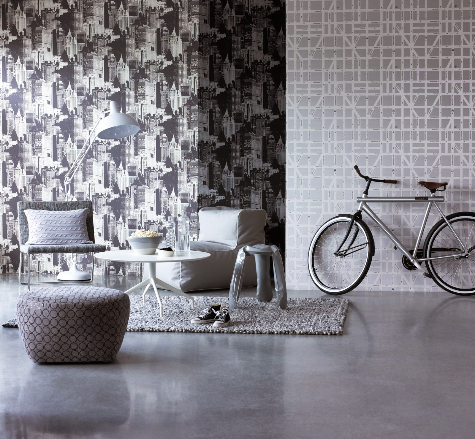 10 Ideas Para Papel De Pared Decorativo - Papel-para-paredes-decorativo
