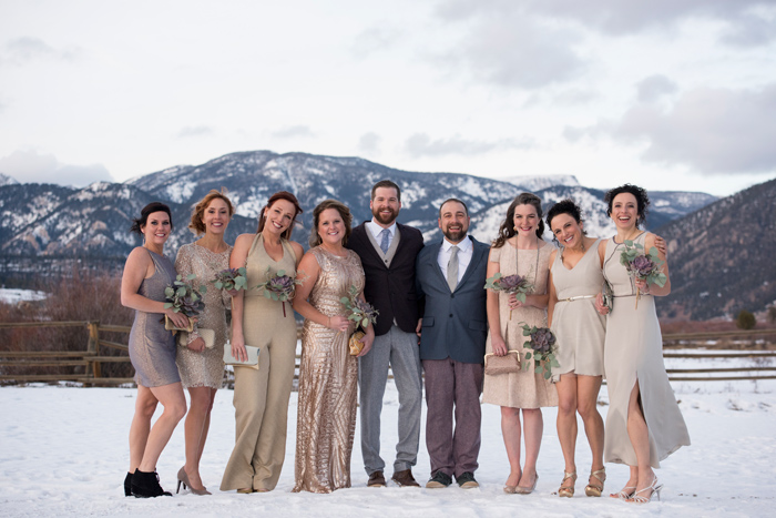 Montana Wedding Party / Jessie Moore Photography