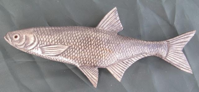 деревянные рыбы России -уклейка