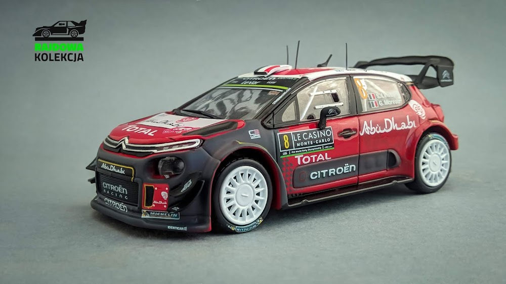 IXO/Eaglemoss Citroën C3 WRC, Rallye Monte-Carlo 2017