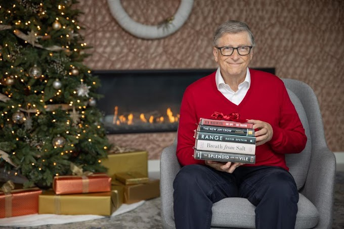 The Five Books Bill Gates Recommended for 2020