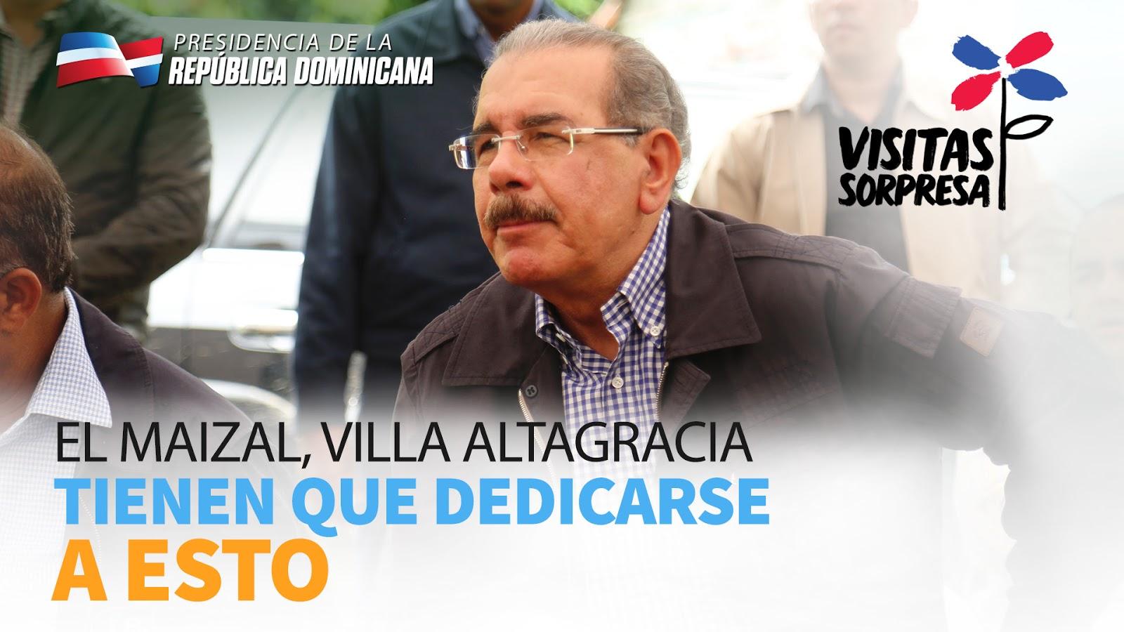 VIDEO: El Maizal, Villa Altagracia. Tienen que dedicarse a esto
