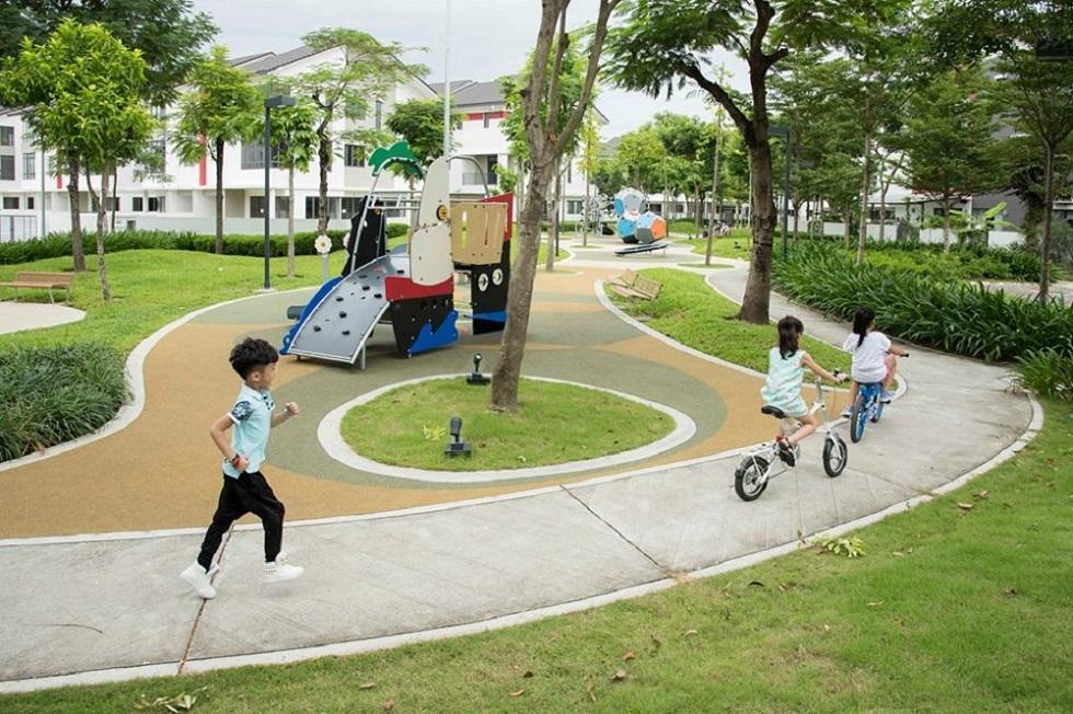 Công viên trong dự án Gamuda Gardens