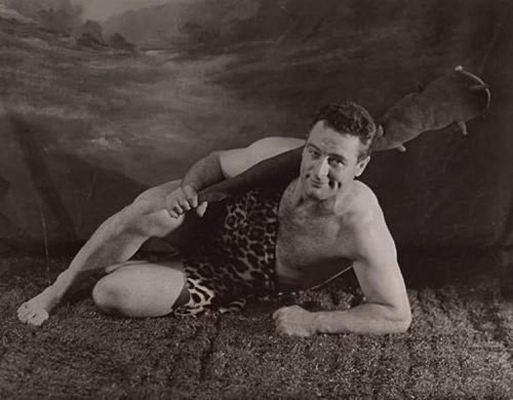 Lou Gehrig As Tarzan 1936 Vintage Everyday
