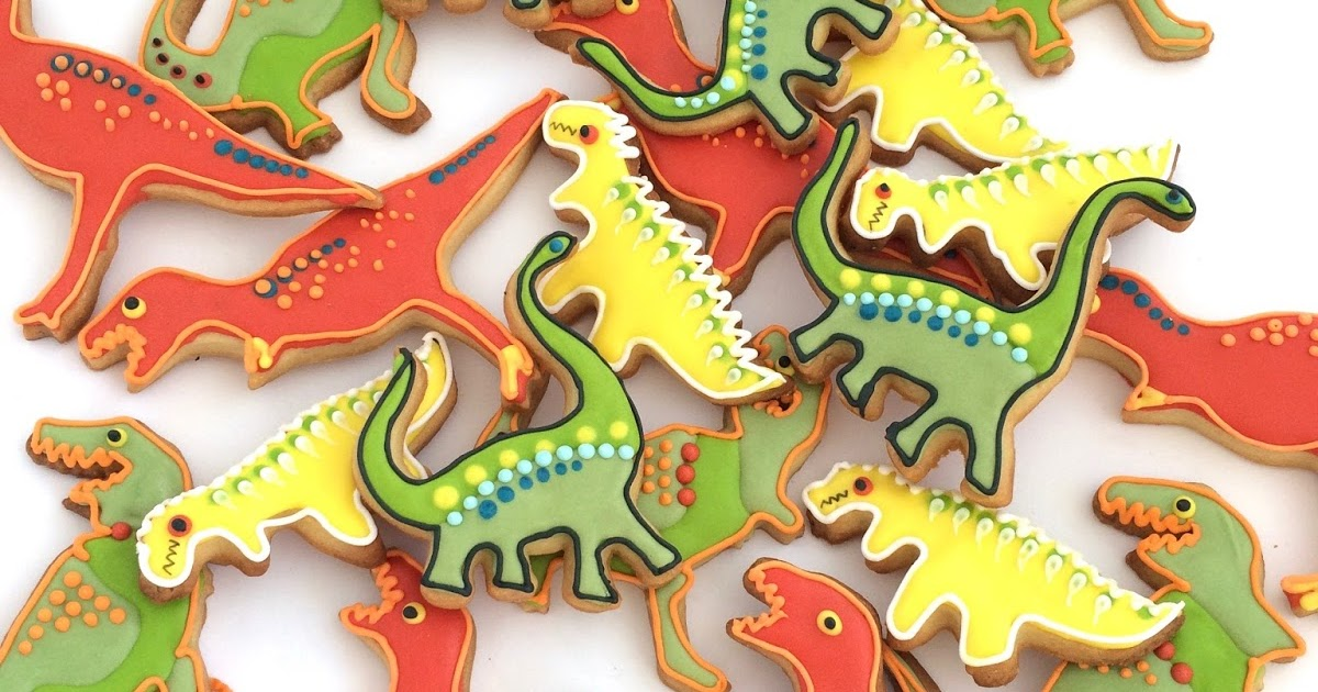 Rozanne S Cakes Dinosaur Biscuits