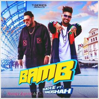 BAMB Lyrics - Badshah Indian Pop Song [2018]