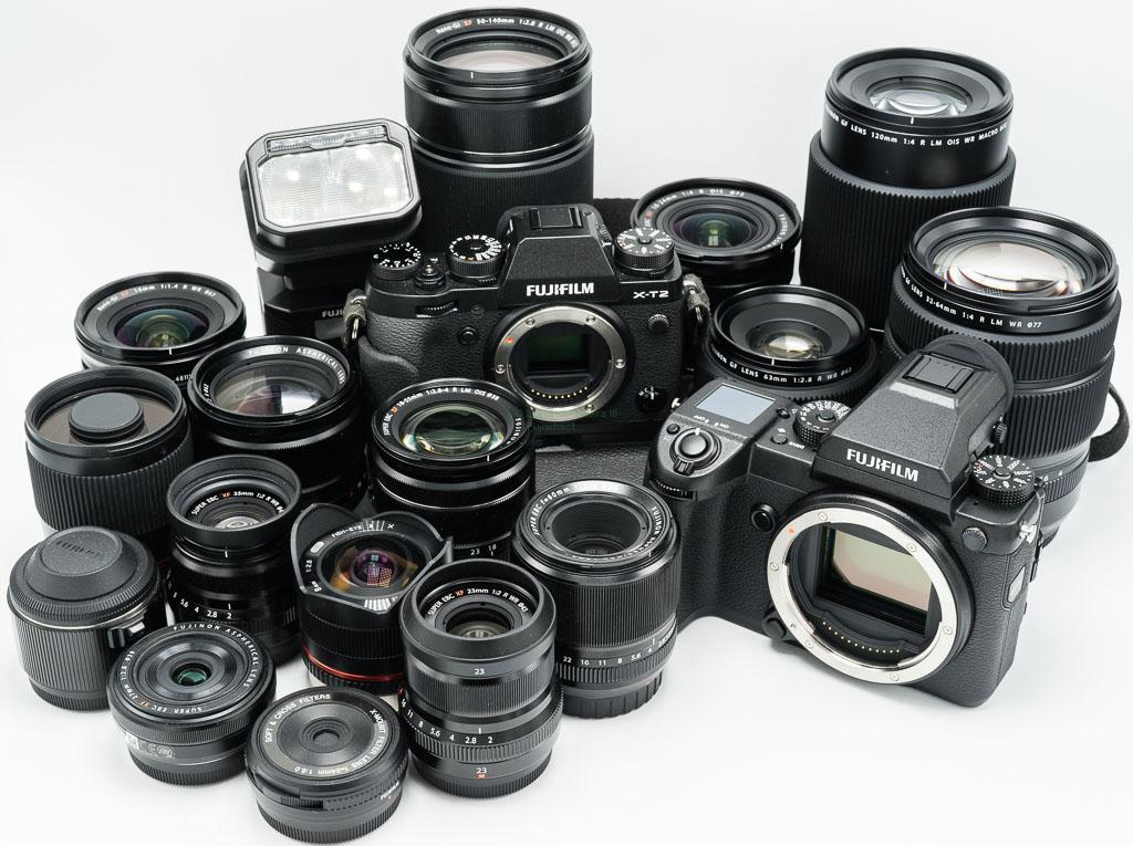 Камеры и оптика Fujifilm
