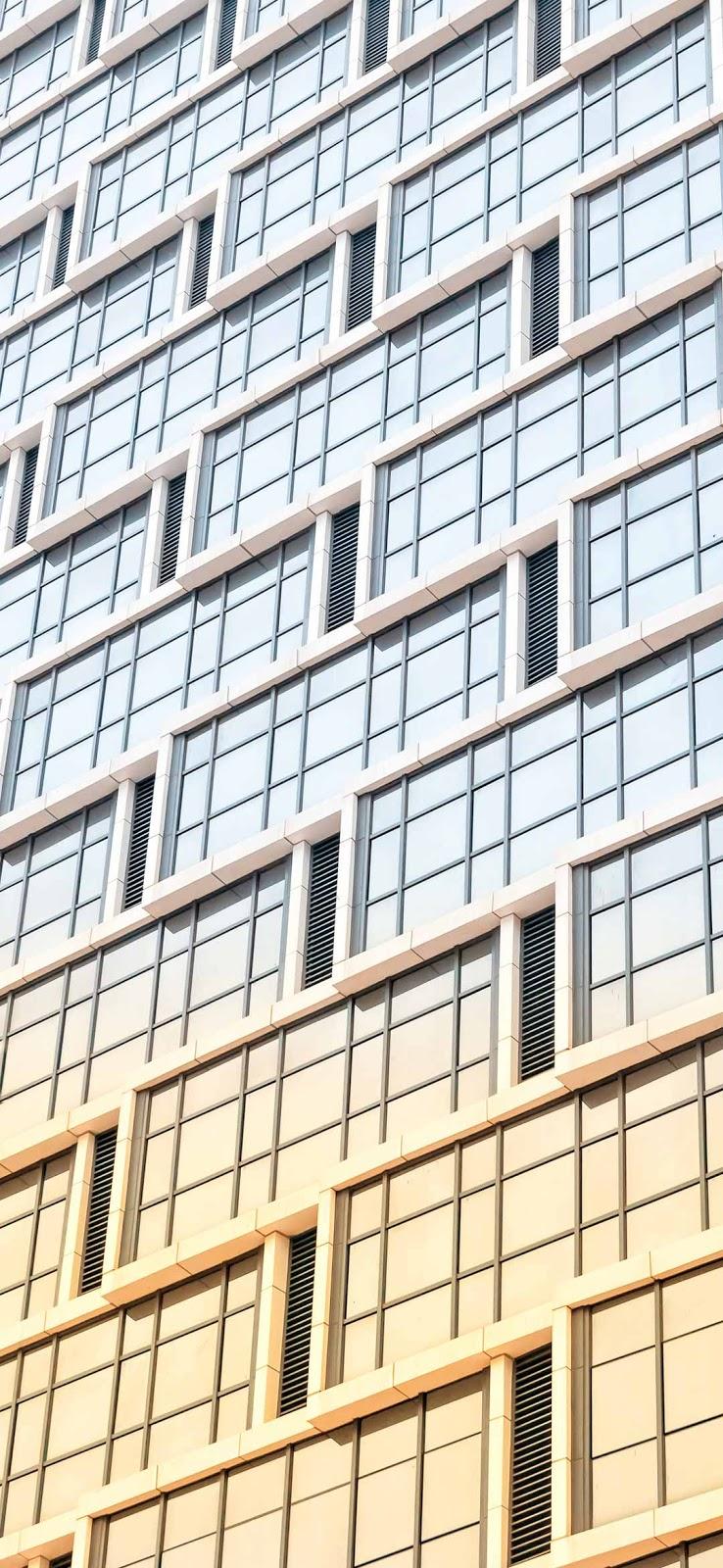 Modern building glass