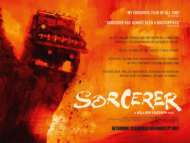 William Friedkin's SORCERER 2017 Film Poster
