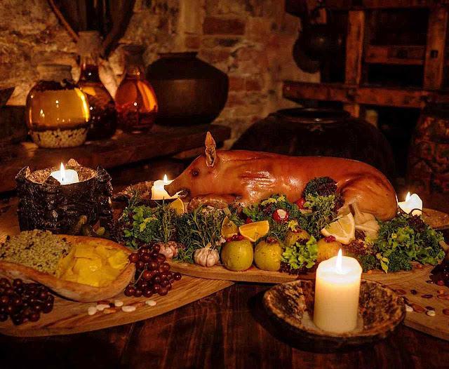 A gastronomia medieval era natural. O oposto da comida industrializada sem sabor