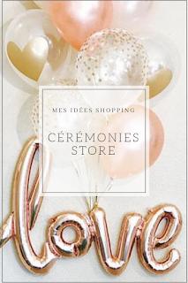 idées shopping mariages et céremonies blog mariage unjourmonprinceviendra26.com