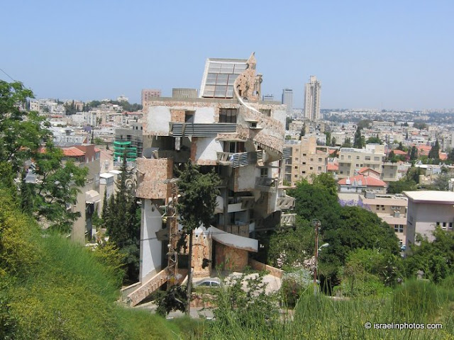 The Spiral Apartment House in Ramat Gan