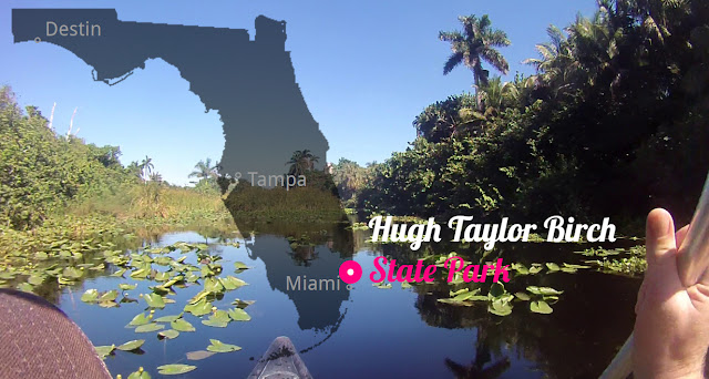 Hugh Taylor Birch State Park Florida USA
