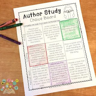 give students more choice by allowing them to pick activities from a choice board