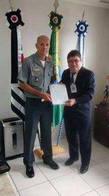 Convênio firmado com a Capitania dos Portos em Iguape