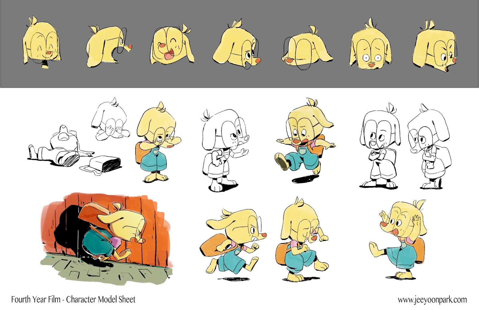 Character Design Visual Development Portfolio : Jeeyoon park portfolio visual development