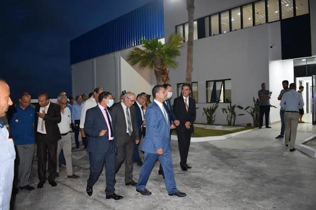 والي المهدية وسفير اليابان يشرفان على تدشين مصنع لتسمين التن بمعتمدية رجيش