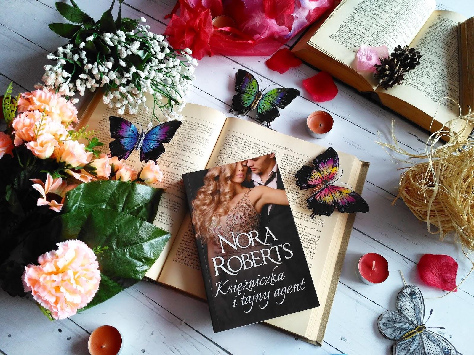 """""""Księżniczka i tajny agent"""" - Nora Roberts"""