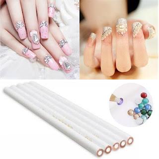 lapices para coger decoraciones de uñas
